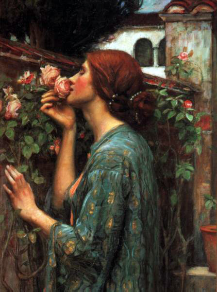 Waterhouse's My Sweet Rose