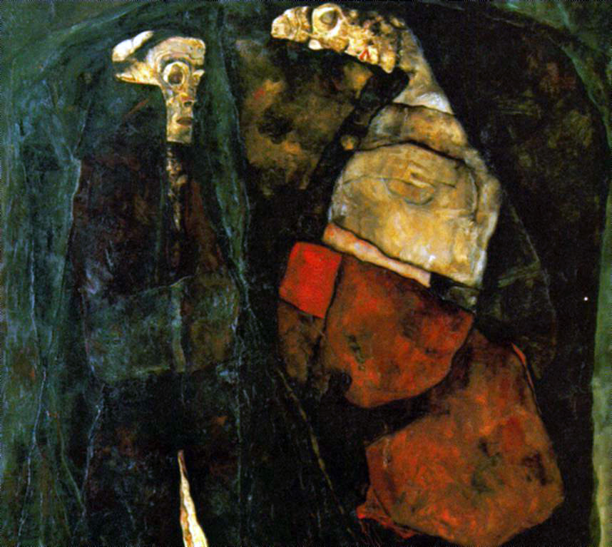 Schiele's Pregnant Woman and Death