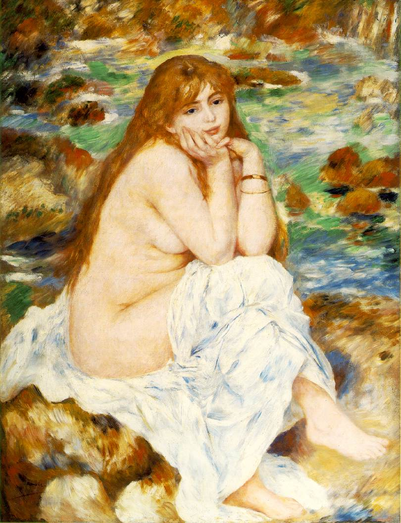 Renoir's Seated Bather