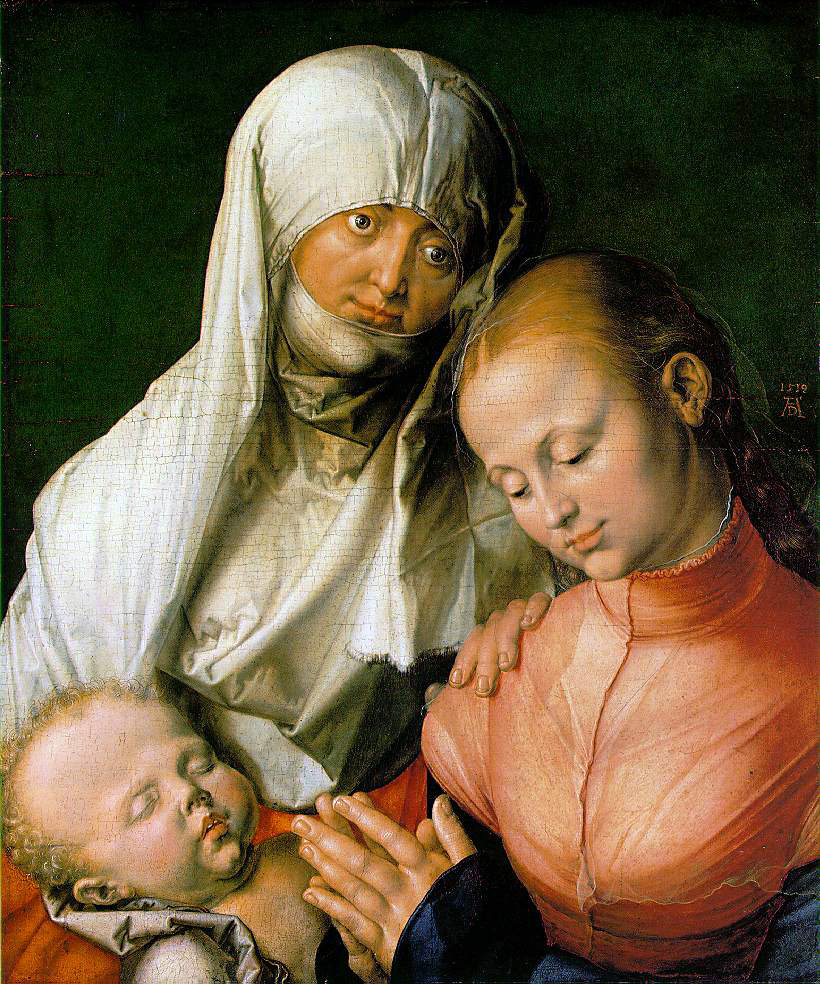 Durer's St. Anne With The Virgin & Child