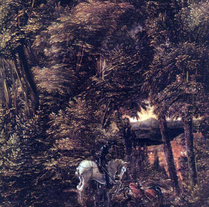 Altdorfer's Saint George In The Forest