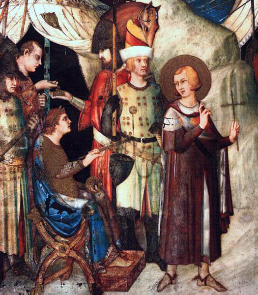 Martini's St. Martin Renouncing The Sword