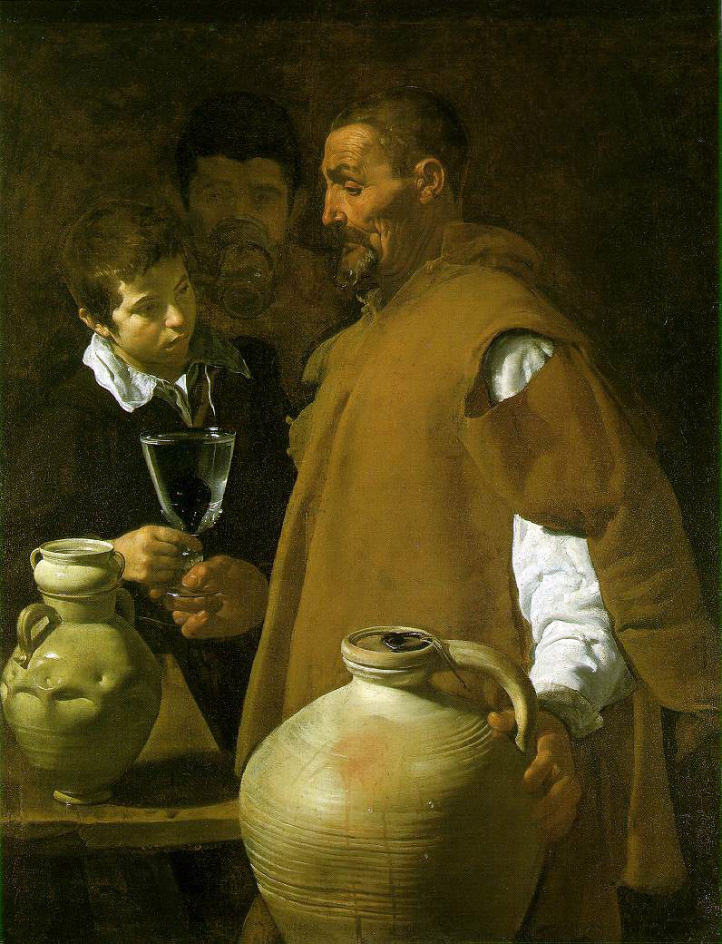 Velasquez's The Waterseller of Seville