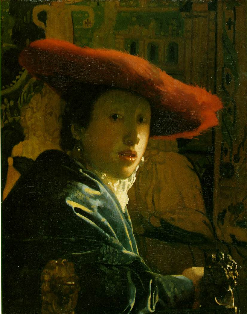 Vermeer's Girl With A Red Hat