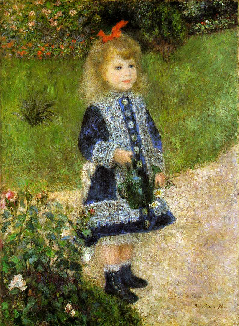 Renoir's Girl With A Watering Can
