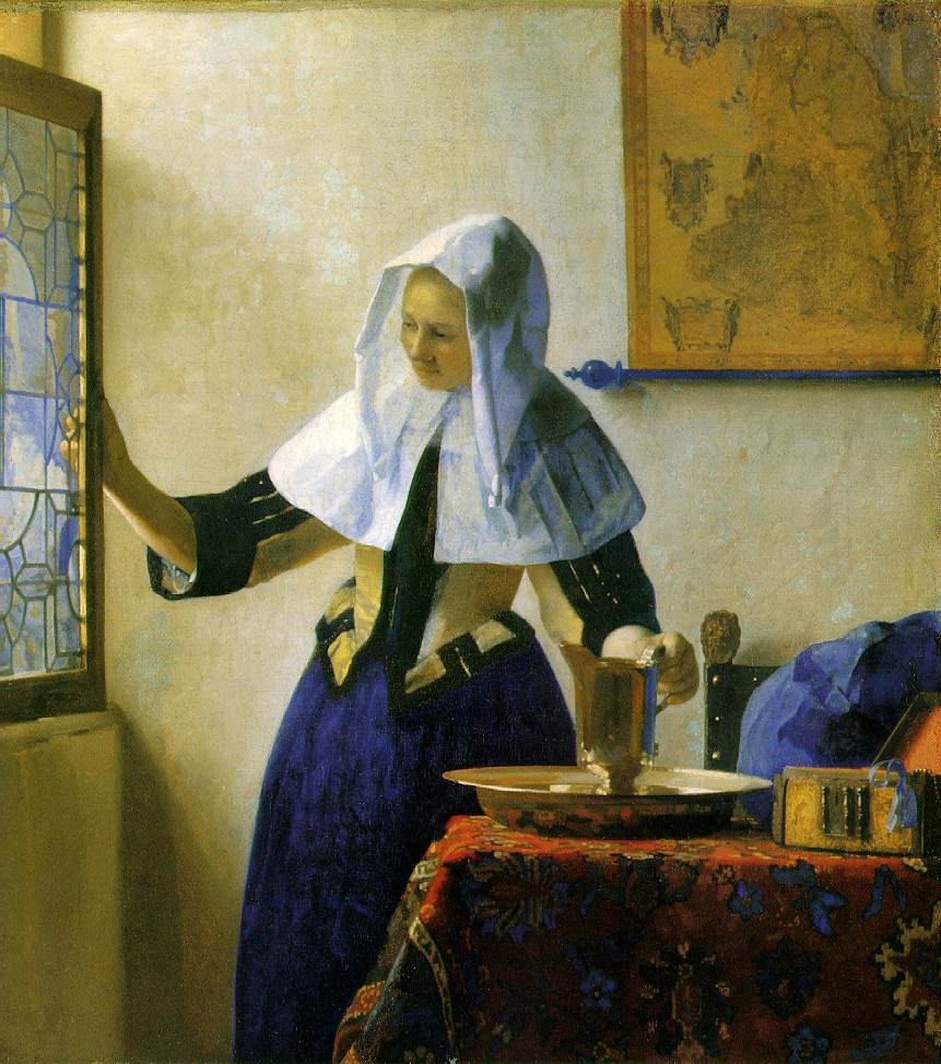 Vermeer's Girl With A Water Pitcher
