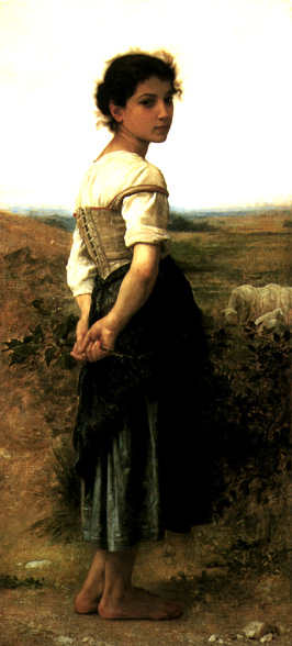 Bougeureau's Young Shepherdess
